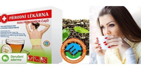 Sada 7 premiových čajů HANNASAKI – doručení zdarma