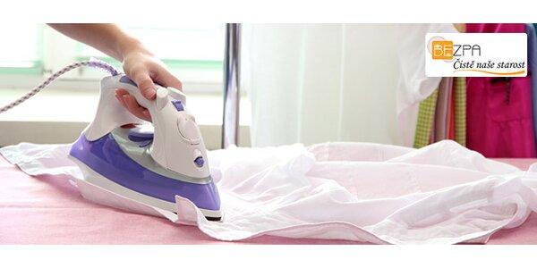 Profesionální vyžehlení 30 ks libovolného prádla