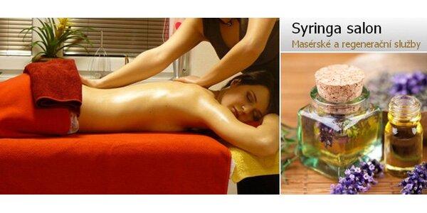 335 Kč za relaxační balíček aroma služeb v hodnotě 670 Kč. Sleva 50%.