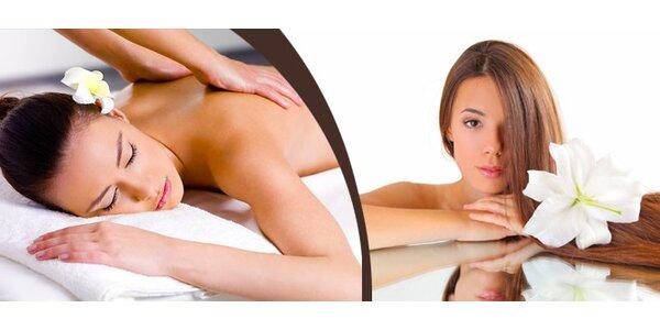 90 minutová hlubinná energetická masáž