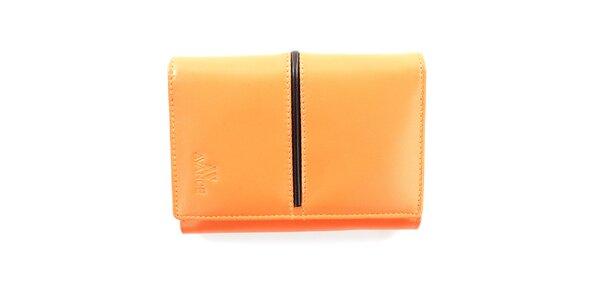 Dámská broskvová peněženka Menbur