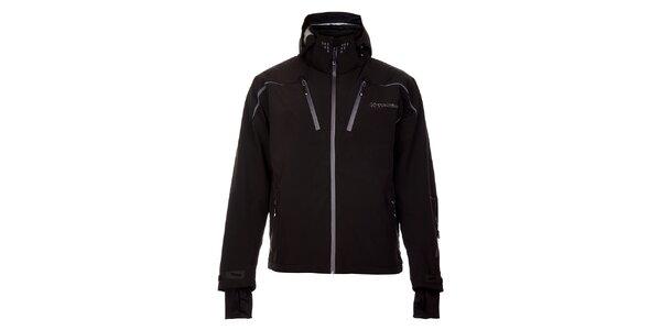 Pánská černá lyžařská bunda Trimm Phoenix