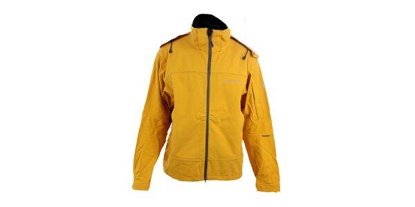 Pánská žlutá softshellová bunda Trimm