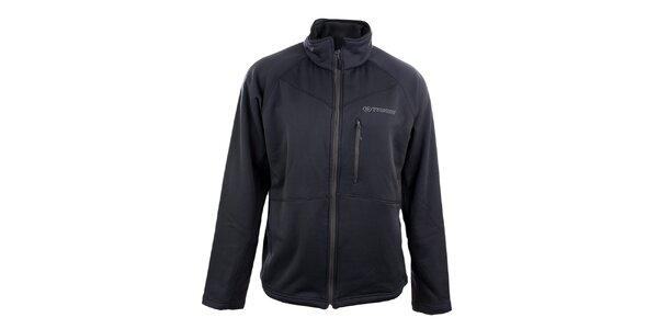 Pánská tmavě šedá softshellová bunda Trimm