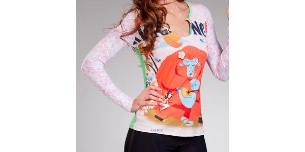 Dámské tričko s vtipným potiskem Culito from Spain