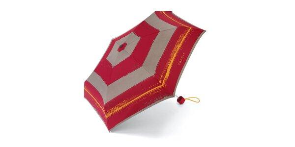 Barevný skládací deštník Esprit