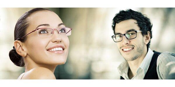 Poukaz v hodnotě 1000 Kč na nákup brýlí dle výběru