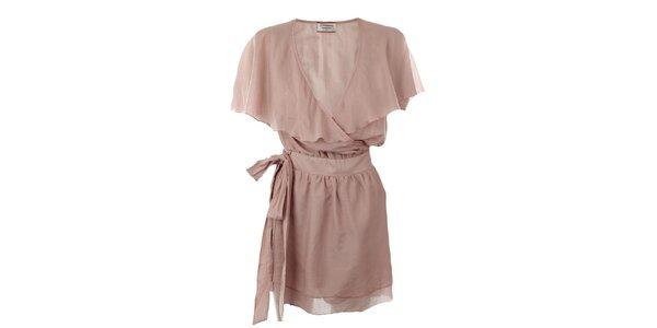 Dámské starorůžové šaty Pietro Filipi