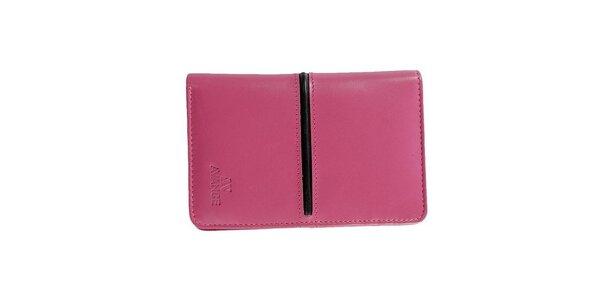 Dámská růžová peněženka Menbur