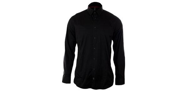 Pánská černá košile Pietro Filipi