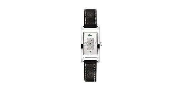Dámské hodinky Lacoste s černým řemínkem