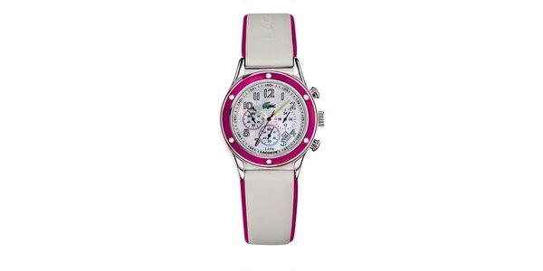Dámské hodinky Lacoste s růžovými detaily