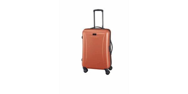 Střední oranžový kufr Esprit