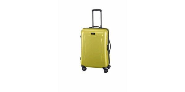 Střední světle zelený kufr Esprit
