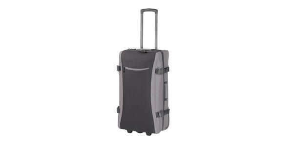 Šedá cestovní taška na kolečkách Esprit