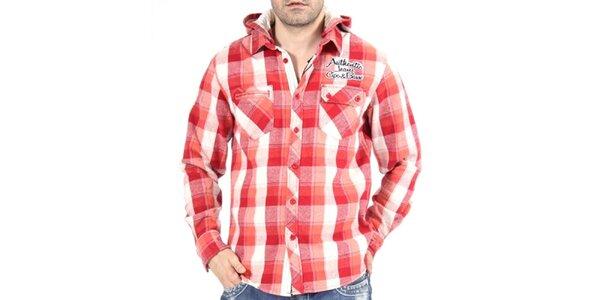 Pánská červená košile Cipo & Baxx