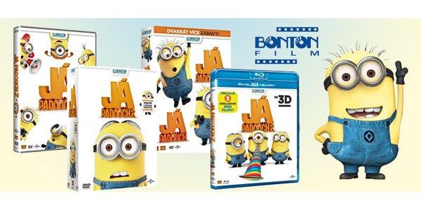 Dárkové balíčky s DVD či Blu-ray Já, padouch 2