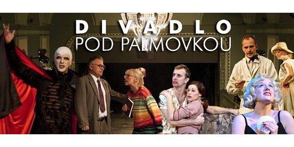 Představení v Divadle Pod Palmovkou