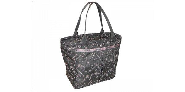 Dámská taška LeSportsac s růžovými detaily