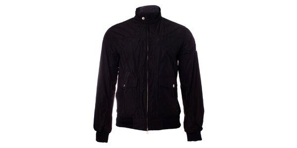 Pánská černá bunda Refrigue