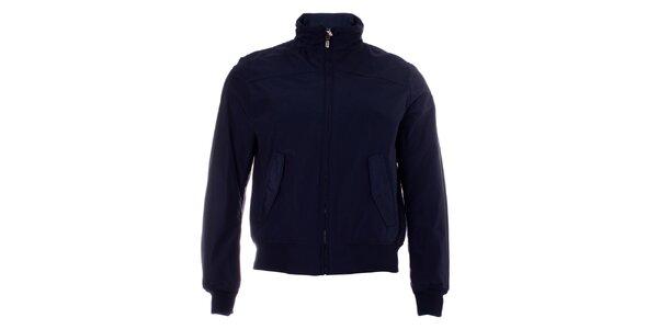Pánská tmavě modrá bunda Refrigue