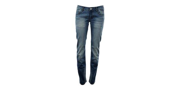 Dámské modré boyfriend džíny Exe Jeans