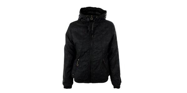 Dámská černošedá zimní bunda Exe Jeans