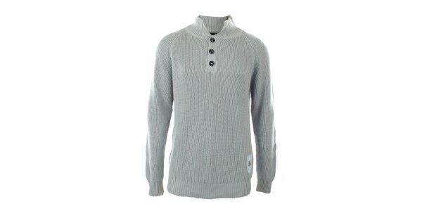 Pánský šedý svetr Exe Jeans
