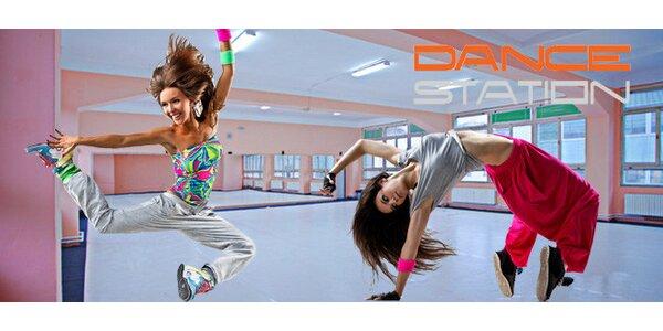 Neomezený měsíční vstup na taneční lekce v centru Prahy