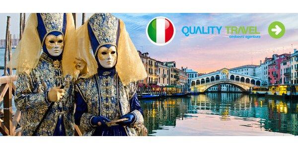 Do Benátek na karneval