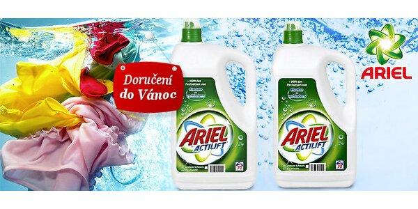 2x Ariel Actilift tekutý gel = 2x70 praní