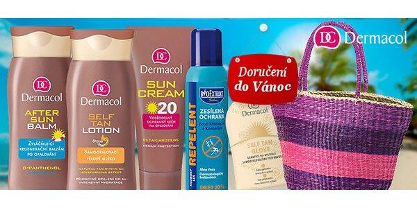 Opalovací kosmetika Dermacol s plážovou taškou