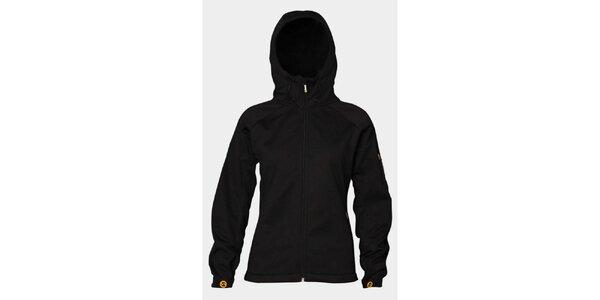 Dámská černá softshellová bunda Sweep s kapucí
