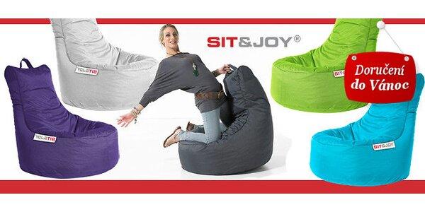 Značkové sedací vaky Sit&Joy®
