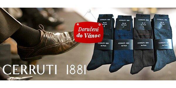 Výprodej! 9 párů ponožek Cerruti 1881 pro pány