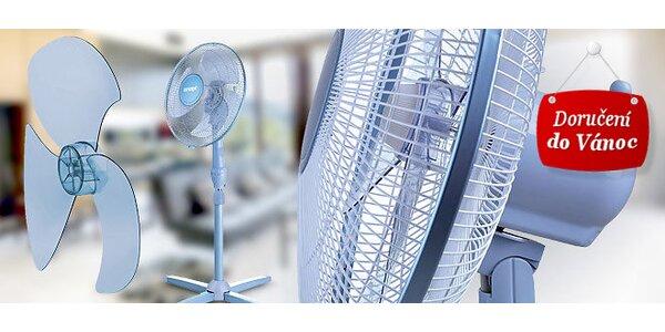 Stojanový ventilátor – svěží vánek v letních dnech