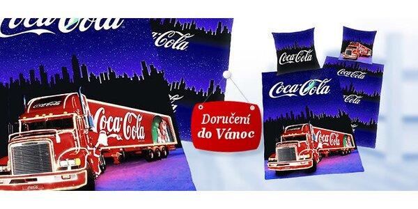Moderní povlečení s Coca-Colou