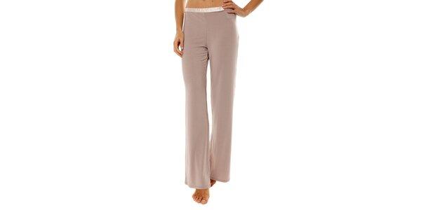 Dámské béžové pyžamové kalhoty Calvin Klein