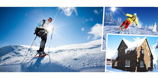 3denní lyžařský pobyt pro dva v Krkonoších