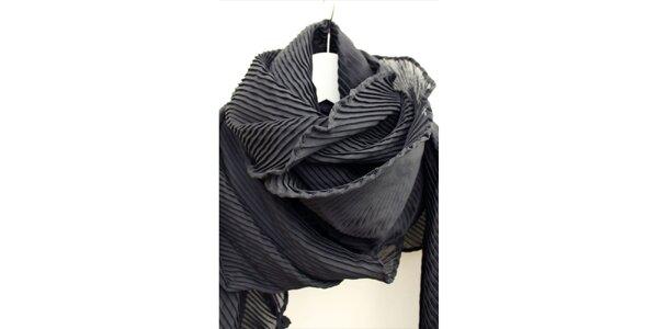 Dámský plisovaný šál Fazane Malik