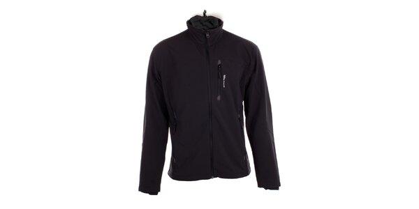Pánská černá softshellová bunda Hannah