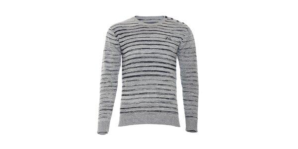 Pánský svetr značky Lois v šedé barvě
