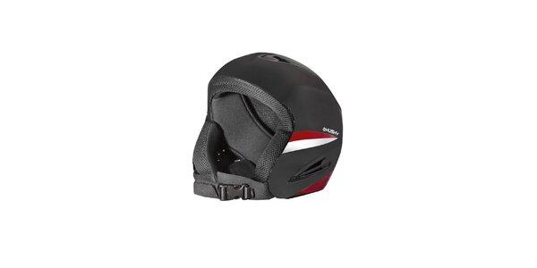 Pánská černo-červená helma Husky