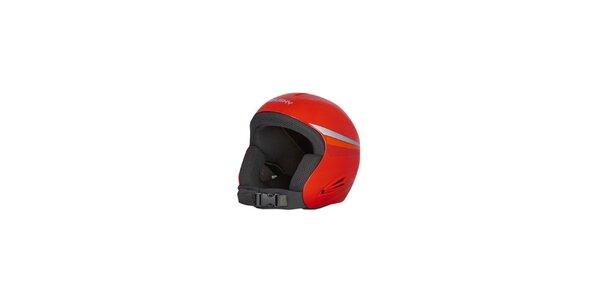 Dětská červená zimní helma Husky
