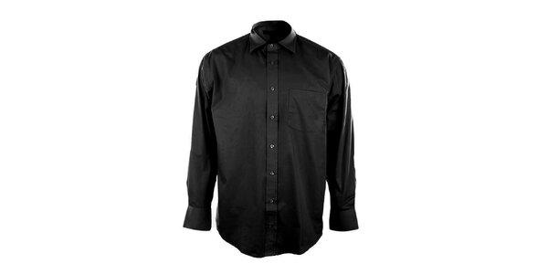 Pánská černá košile Perry Ellis