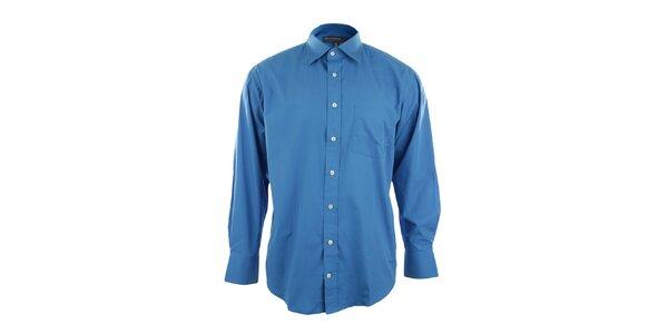 Tmavě modrá pánská košile Perry Ellis
