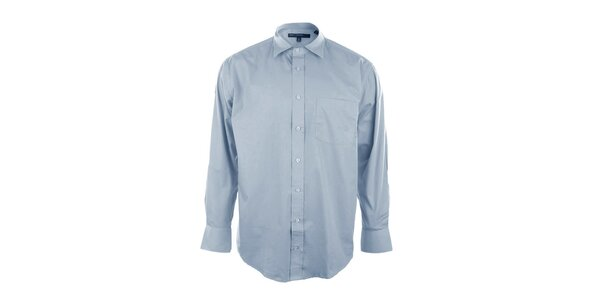 Světle modrá pánská košile Perry Ellis