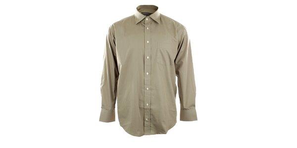 Pánská košile v barvě žita se špičatým límečkem Perry Ellis