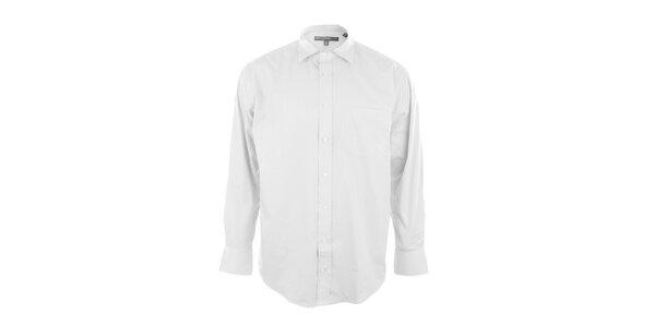 Pánská košile ve sněhobílé barvě Perry Ellis