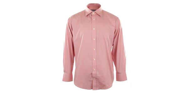 Pánská růžová košile Perry Ellis